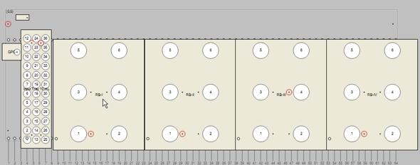 Tray-GPC-Rundkolben-10ml-Probenaufgabe
