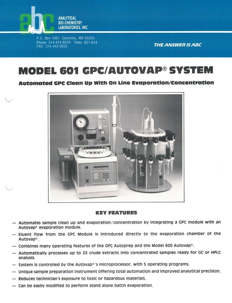 Model 601 (Medium)